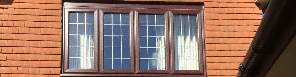 Coloured uPVC windows and doors in Basingstoke