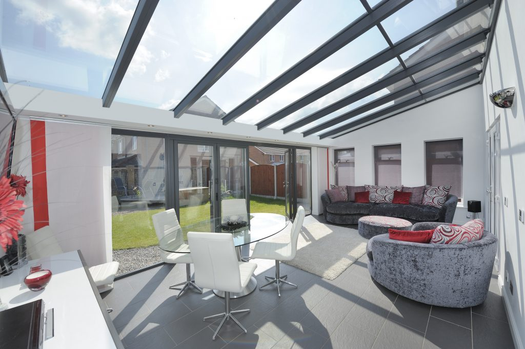 LivinRoom Lean To Conservatory from Excellent Windows