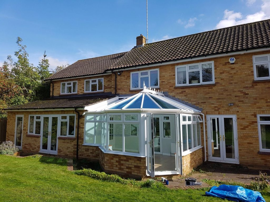 P Shape Conservatories in Hampshire